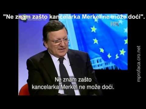 Noć uoči proslave Barroso