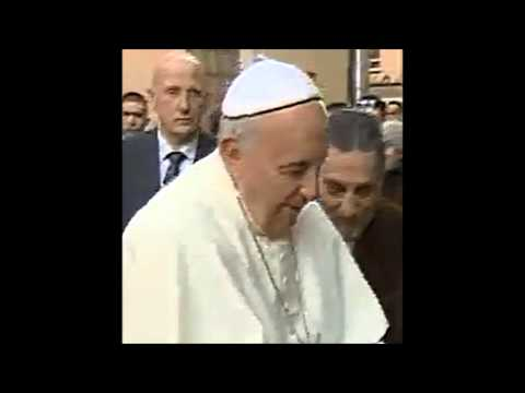 Shapeshifter Pope Francis video