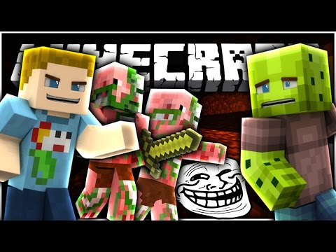 Minecraft: THE NETHER TROLL?! | What Is Minecraft - Ep: 10