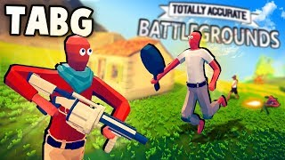 Totally Accurate BATTLEGROUNDS!?  TABS Battle Royale Gameplay! (TABG Part 1 - PvP)