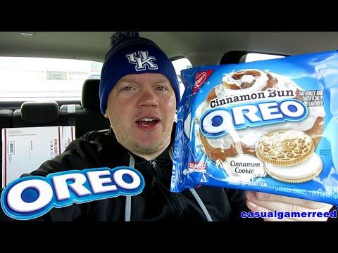 Reed Reviews Oreo Cinnamon Bun Cookies