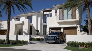 Custom Contemporary Masterpiece Home with Italian Inspired Design -- Lifestyle Production Group