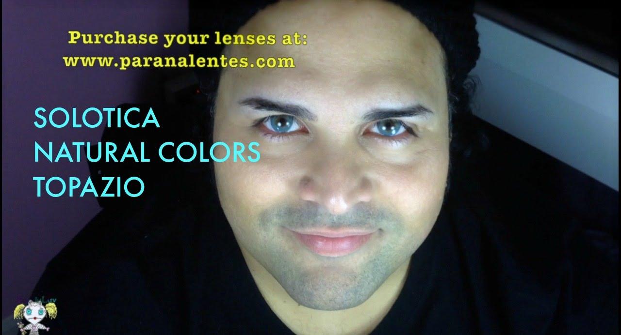 Solotica Natural Colors Topazio Review