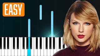 "Download Lagu Sugarland - ""Babe"" ft Taylor Swift 100% EASY PIANO TUTORIAL Gratis STAFABAND"
