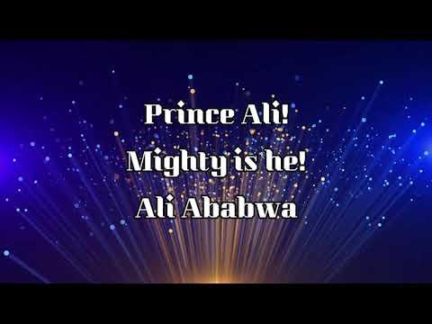 Prince Ali/Will Smith (lyrics)