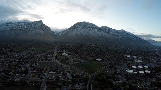 Aerial Tour of Provo, Utah - 4K
