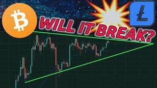 BITCOIN LIVE: Will Bitcoin & Litecoin break resistance?