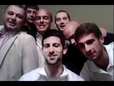 Novak Djokovic - Happy New Year - Italian