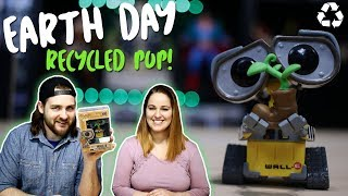 A RECYCLED FUNKO POP? | Earth Day Exclusive Wall-E POP!