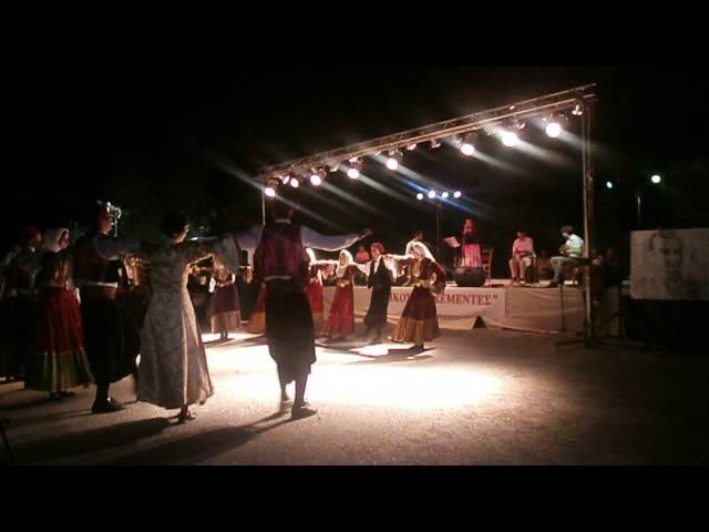7ο Φεστιβάλ Νικόλαου Τσελεμεντέ,Βλέπω καράβια, χορευτικό σκιάθου 5/9/2013- Σίφνος
