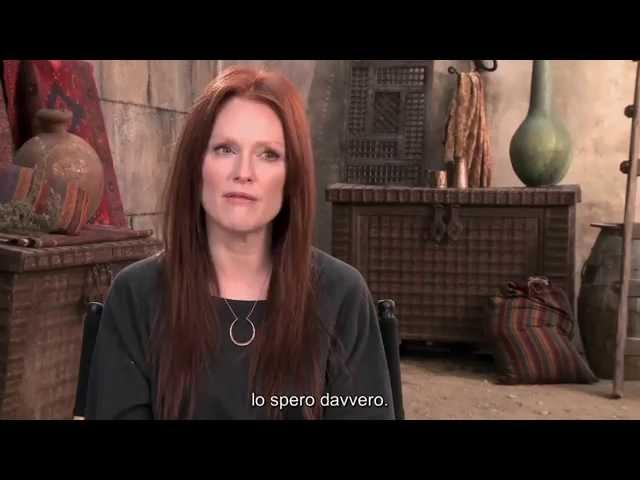 Il settimo figlio - Intervista a Julianne Moore (sottotitoli in italiano)