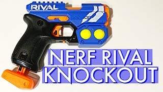 Nerf Rival Knockout XX-100 Minute Review - american foaMinute