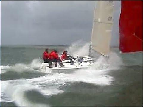 Extreme Sailing 196 Knots On J80 Yeehaaa YouTube