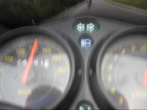 CBR 125 R 0-143 topspeed