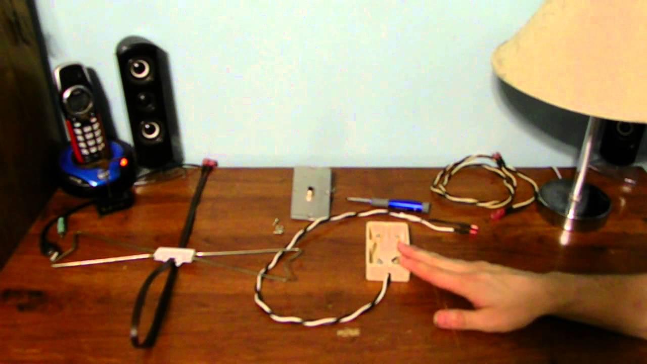 Как сделать домашнею радио антенну 34