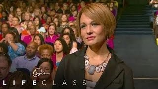 Pastor Joel Osteen Helps a Woman Feel Worthy - Oprah's Lifeclass - Oprah Winfrey Network
