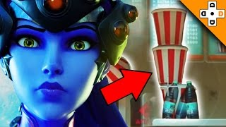Overwatch Funny & Epic Moments 88 - WIDOW'S INSANE FLIP BOTTLE TRICK SHOT! - Highlights Montage