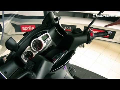 Aprilia SR Max 125: Prezentacja Wideo | Skuterowo.com