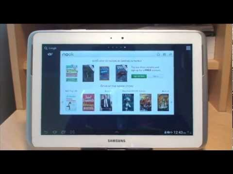 Samsung Galaxy Note 10.1 How to Install & Format a Micro SD Card