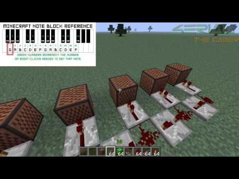 Minecraft-Como hacer un timbre (Música de Mario Bros)