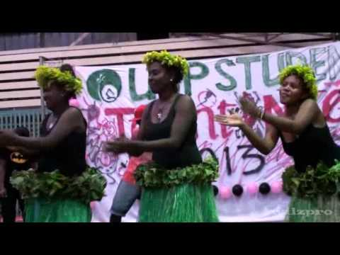 West N Choi Usp Students Solomon Islands Cultural Night 2013 video