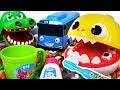 Pinkfong Baby Shark Tooth Brush Play Set Let S Brush Tayo Crocodile S Teeth PinkyPopTOY mp3