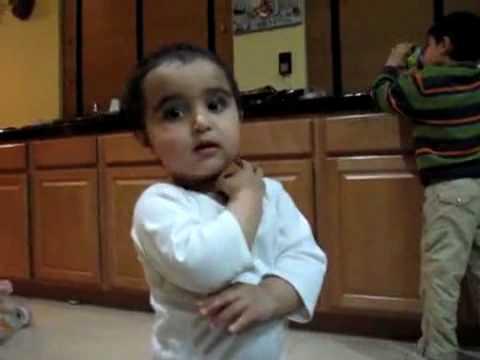 Baby explaining her Mother