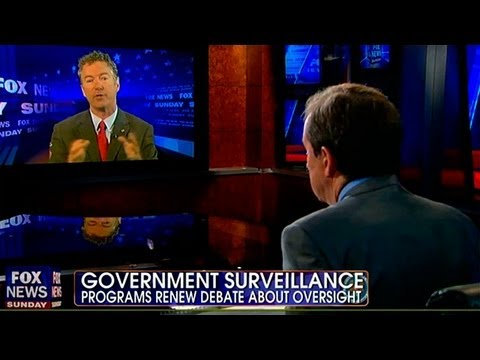 Rand Paul Threatens to Sue Feds Over NSA Leaks