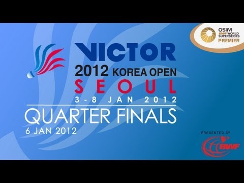Quarter Finals - 2012 Victor Korea Open