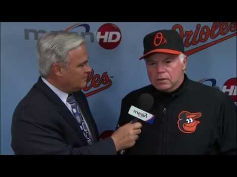 Kevin Gausman, Buck Showalter, and Chris Davis discuss Gausman's pitching efforts