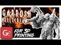 Garrosh Hellscream 3D Printing Figurine | Assembly by Gambody