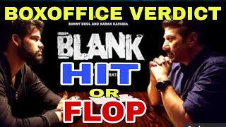 Blank Movie Hit or Flop | Lifetime collection prediction | Sunny deol