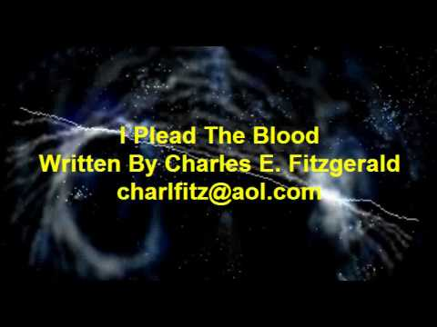 Southern gospel i plead the blood written by charles e fitzgerald