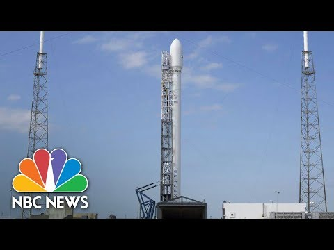 Watch Live: SpaceX's Falcon Heavy Rocket Launch | NBC News
