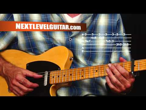Guitar lesson learn retro Texas Blues lick ideas inspired by Jimmie Vaughan Gatemouth Brown