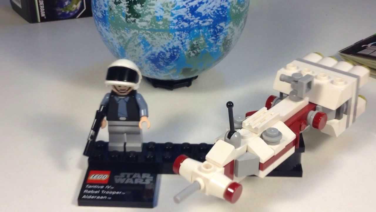 Lego Star Wars Alderaan Lego Star Wars Planet Series 4