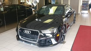 Checking Out My Potential Audi RS7!!!