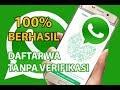 Cara Mendaftar WA Tanpa Kode Verifikasi ke Nomor HP Pribadi    Triks WhatsApp    WA Tutorial