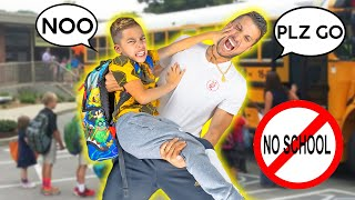 FERRAN DOESN'T Want To Go To SCHOOL Anymore! Here Is Why...😱 | The Royalty Family