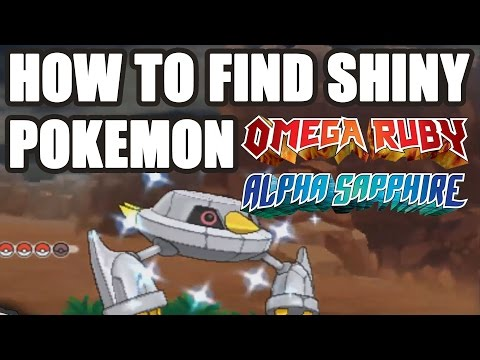 How To Find Shiny Pokemon in Pokemon Omega Ruby and Alpha Sapphire How to Chain Pokemon DexNav