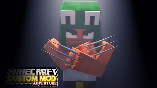 Minecraft - WOLVERINE'S EXPERIMENT - Custom Mod Adventure