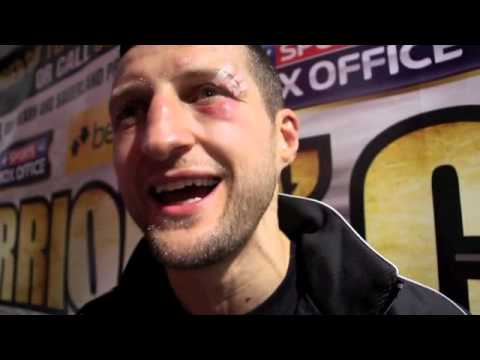 CARL FROCH POST-FIGHT INTERVIEW FOR iFILM LONDON / FROCH v KESSLER 2 / O2 ARENA
