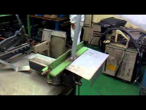 Como fazer uma dobradeira de calha