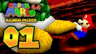 Super Mario 64: Randomizer - Part 1: BEST RANDOMIZER YET???