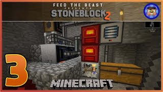StoneBlock 2 Modpack Ep 3 - Lava Generators