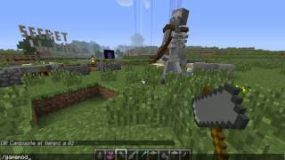 Minecraft 1 6 4 Mutant Creatures Mod!   Mutant Skeleton   Español