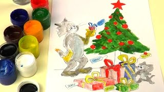 Tom and Jerry Coloring Book LIVE Coloring Pages