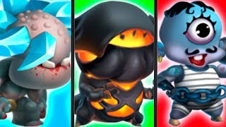 Monster Legends - EQUIPO TITANES ELEMENTALES - Combat PVP - LEGENDARY ELEMENTARY TITANS BATTLES