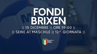 Serie A1M [12^]: Fondi - Brixen 31-28