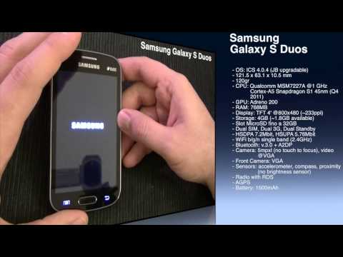 Samsung Galaxy S Duos - Unboxing [ENG] by TechnoLost
